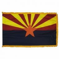3' X 5' Nylon Indoor/Parade Arizona State Flag
