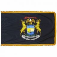 3' X 5' Nylon Indoor/Parade Michigan State Flag