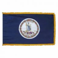 3' X 5' Nylon Indoor/Parade Virginia State Flag