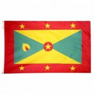 4' X 6' Nylon Grenada Flag