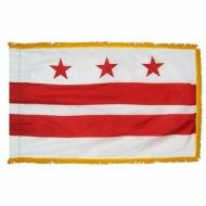 4' X 6' Nylon Indoor/Parade District of Columbia Flag