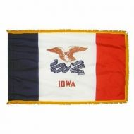 4' X 6' Nylon Indoor/Parade Iowa State Flag