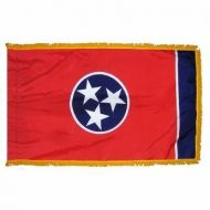 4' X 6' Nylon Indoor/Parade Tennessee State Flag