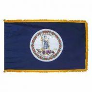 4' X 6' Nylon Indoor/Parade Virginia State Flag