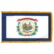 4' X 6' Nylon Indoor/Parade West Virginia State Flag