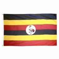 4' X 6' Nylon Uganda Flag