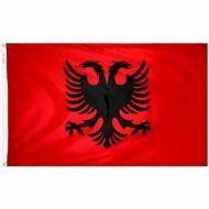 5' X 8' Nylon Albania Flag