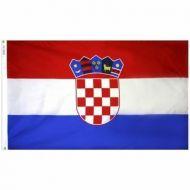 5' X 8' Nylon Croatia Flag