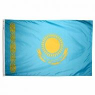 5' X 8' Nylon Kazakhstan Flag