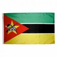5' X 8' Nylon Mozambique Flag