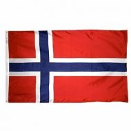 5' X 8' Nylon Norway Flag