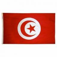 5' X 8' Nylon Tunisia Flag