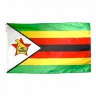 5' X 8' Nylon Zimbabwe Flag