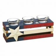American Wooden Tea Light Holder