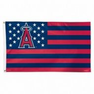 Anaheim Angels Stars and Stripes Flag
