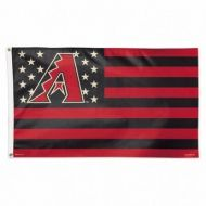 Arizona Diamondbacks Stars and Stripes Flag