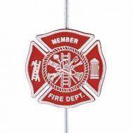 Cast Aluminum Firefighters Memorial Grave Marker