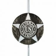 Cast Aluminum Grave Marker - All Veterans