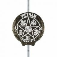 Cast Aluminum Vietnam War Veteran Grave Marker