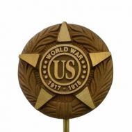 Cast Bronze WWI Veteran Grave Marker