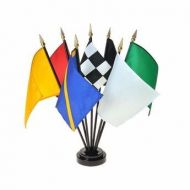 Complete Set of Racing Flags