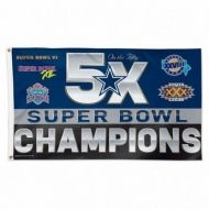 Dallas Cowboys Champion Flag