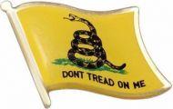 Don't Tread on Me Lapel Pin