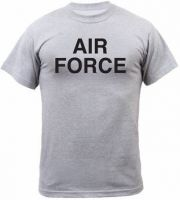 Grey US Air Force Physical Training T-Shirt