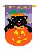 Happy Halloween Garden Banner