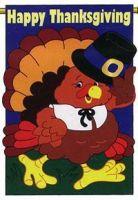 Happy Thanksgiving Garden Banner
