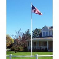 Heavy Duty Residential 20' Fiberglass Flagpole