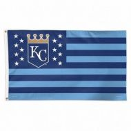 Kansas City Royals Stars and Stripes Flag