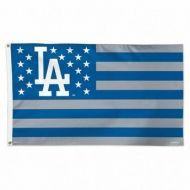 LA Dodgers Stars and Stripes Flag