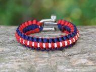 Unisex USA Pride Survival Bracelet