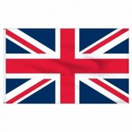 Economy Printed United Kingdom Flags
