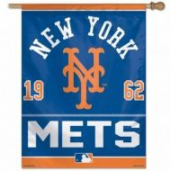 NY Mets Vertical Flag