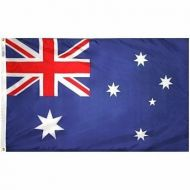 Nylon Australia Flag - Various Sizes
