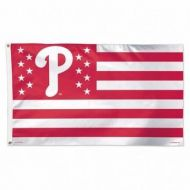 Philadelphia Phillies Stars and Stripes Flag