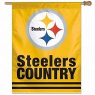 Pittsburgh Steelers Country Vertical Flag