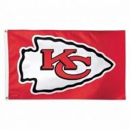 Premium 3' X 5' Kansas City Chiefs Flag