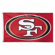 Premium 3' X 5' San Francisco 49ers Flag