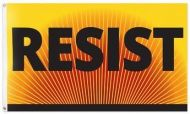 Resist Banner Protest Flag