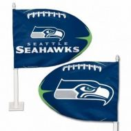 Seattle Seahawks Car Flag