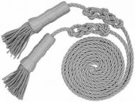 Silver Cord With Tassle