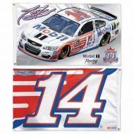 Tony Stewart Two-Sided NASCAR Flag