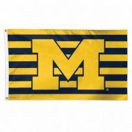 University of Michigan Stars and Stripes Flag