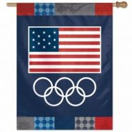 USOC Rings Vertical Flag