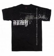 Vintage Army Helicopter T-Shirt - Black