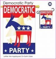 Democratic Garden Banner