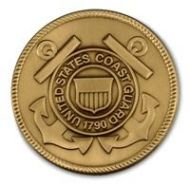 Coast Guard Service Medallion